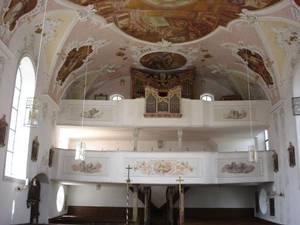 Bild: Orgel in St. Stephan und Oswald